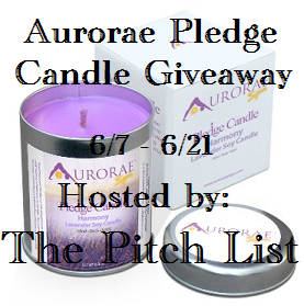 Aurorae Pledge Candle