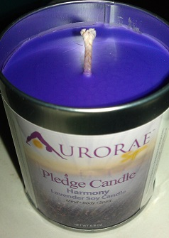 Aurorae Pledge Candle