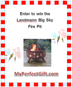Moon and Stars Fire Pit Giveaway