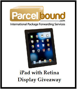 iPad with Retina Display Giveaway
