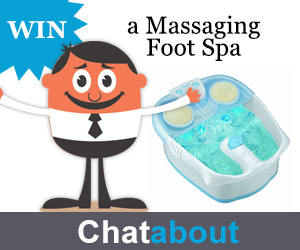 Massaging Foot Spa