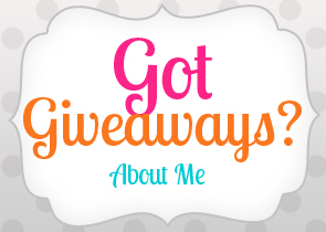 got giveaways about me modern blogger