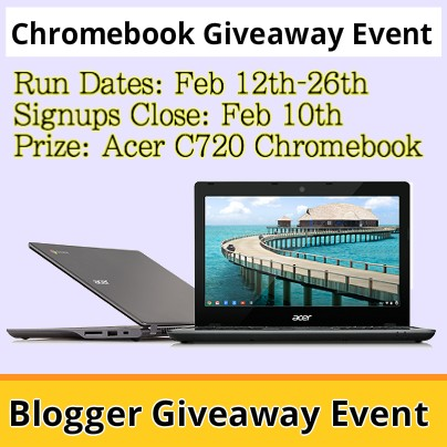 chromebook giveaway event