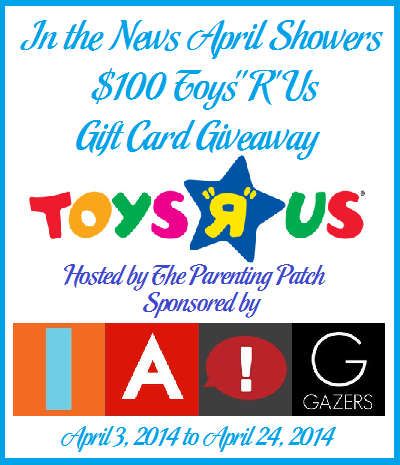 $100 toys r us gift card giveaway