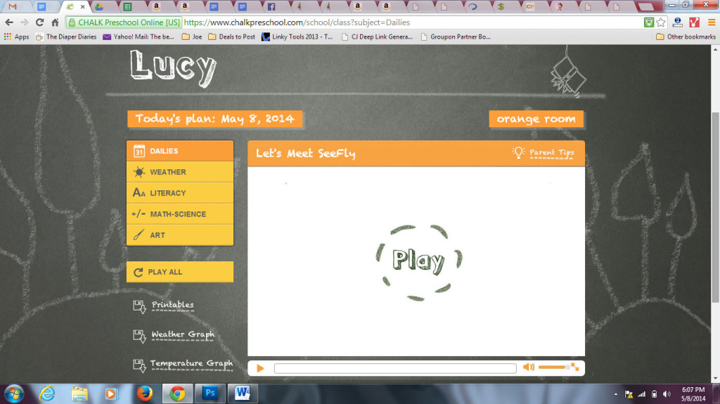 chalk preschool screenshot 1