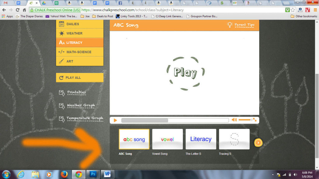 chalk preschool screenshot 2