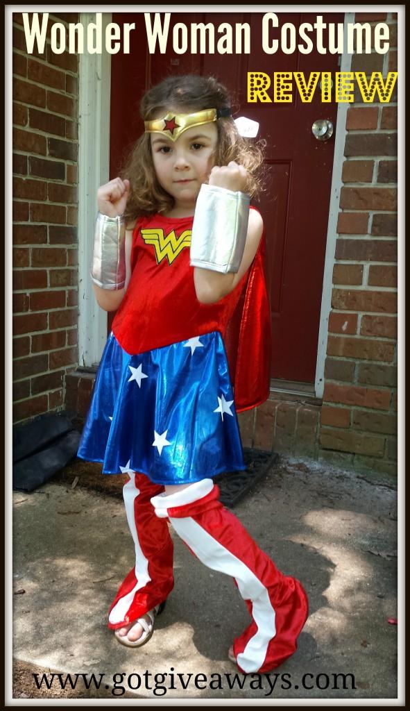 wonder woman costume review