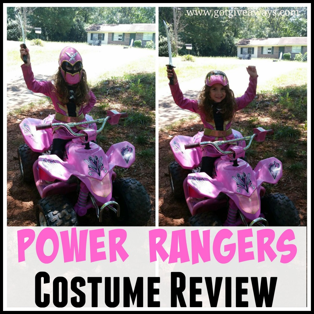 power rangers costume review