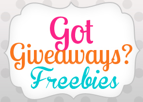 got giveaways freebies blogger