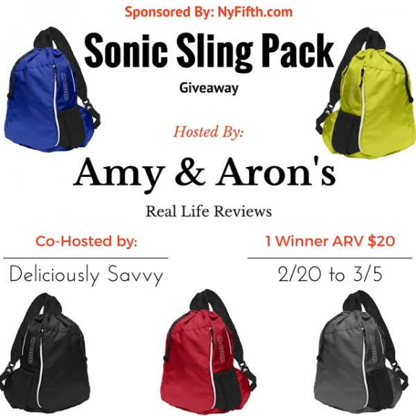 sonic sling pack giveaway