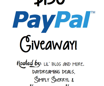 $150 paypal cash giveaway