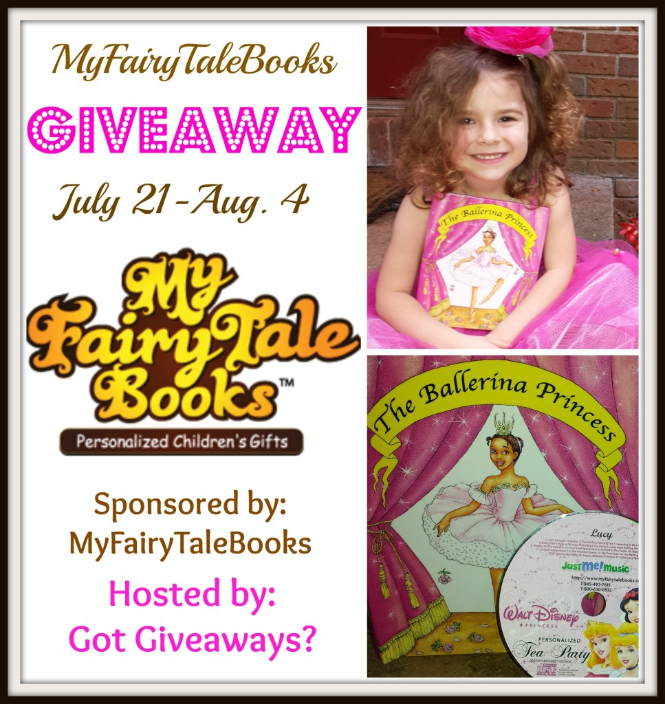 my fairy tale books giveaway collage