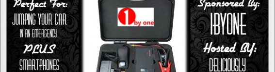 Blogger Opp: Portable Car Jump Starter Powerbank!